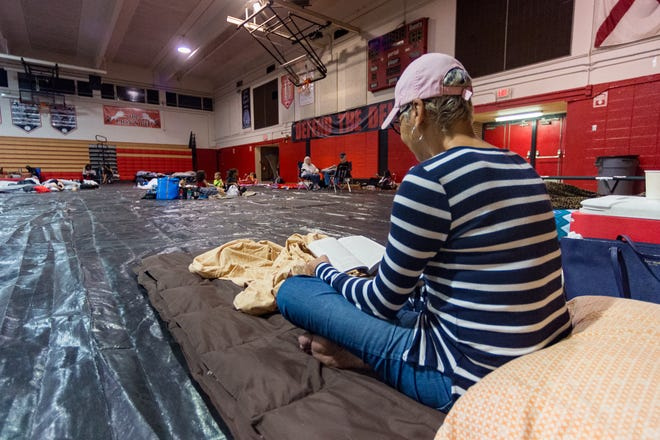 Due to COVID-19 concerns, your evacuation or hurricane shelter kits should include masks, glovesand an alcohol-based hand sanitizer along with disinfecting wipes.