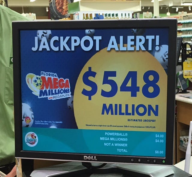Mega Millions jackpot is third-largest in game's history