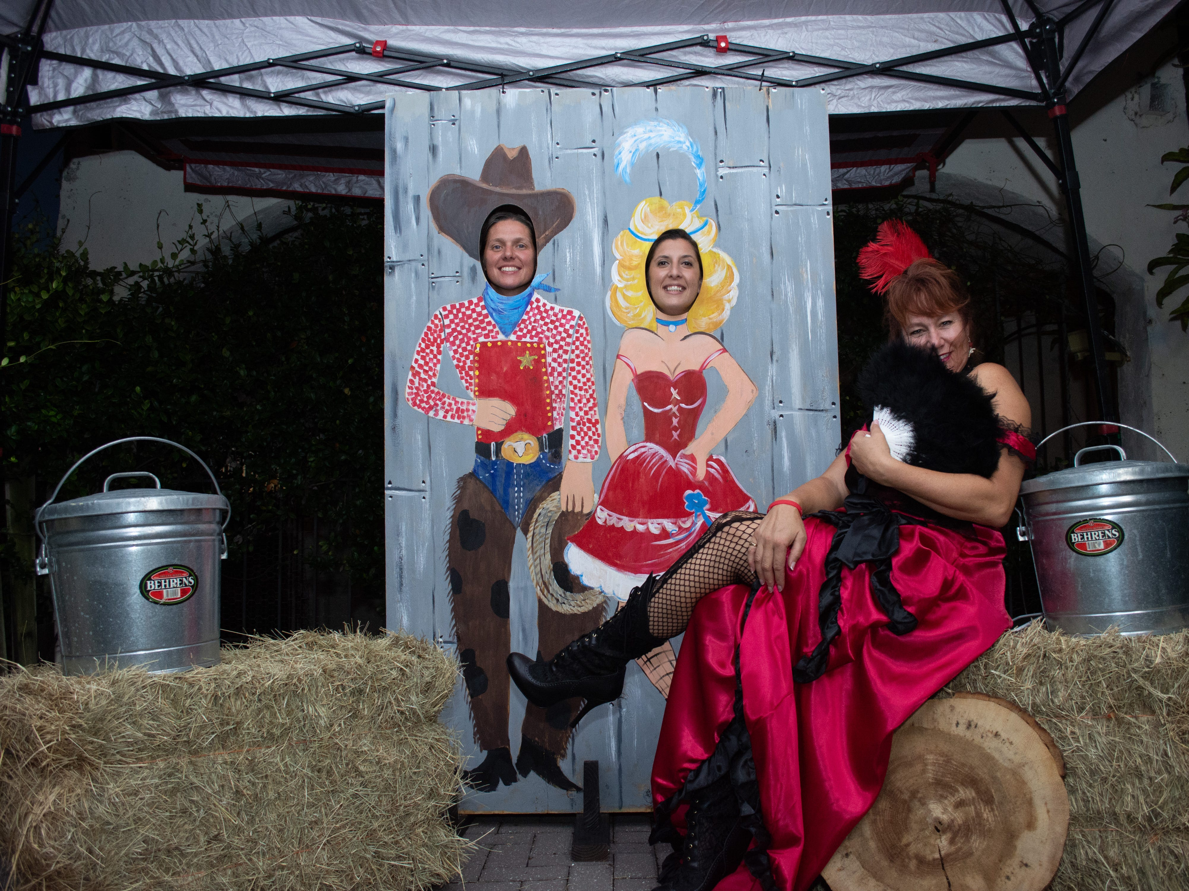 Tami Sarno, Ali Sarno, and Tami Leliuga-Shriver pose for a photo. Arron Lampkin/For FLORIDA TODAY