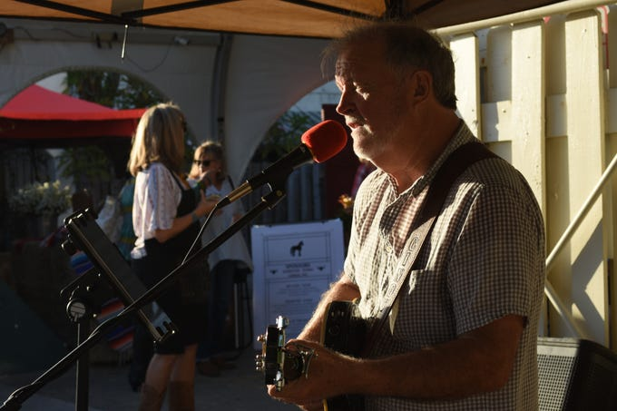 Guests were greeted by live music. Arron Lampkin/For FLORIDA TODAY