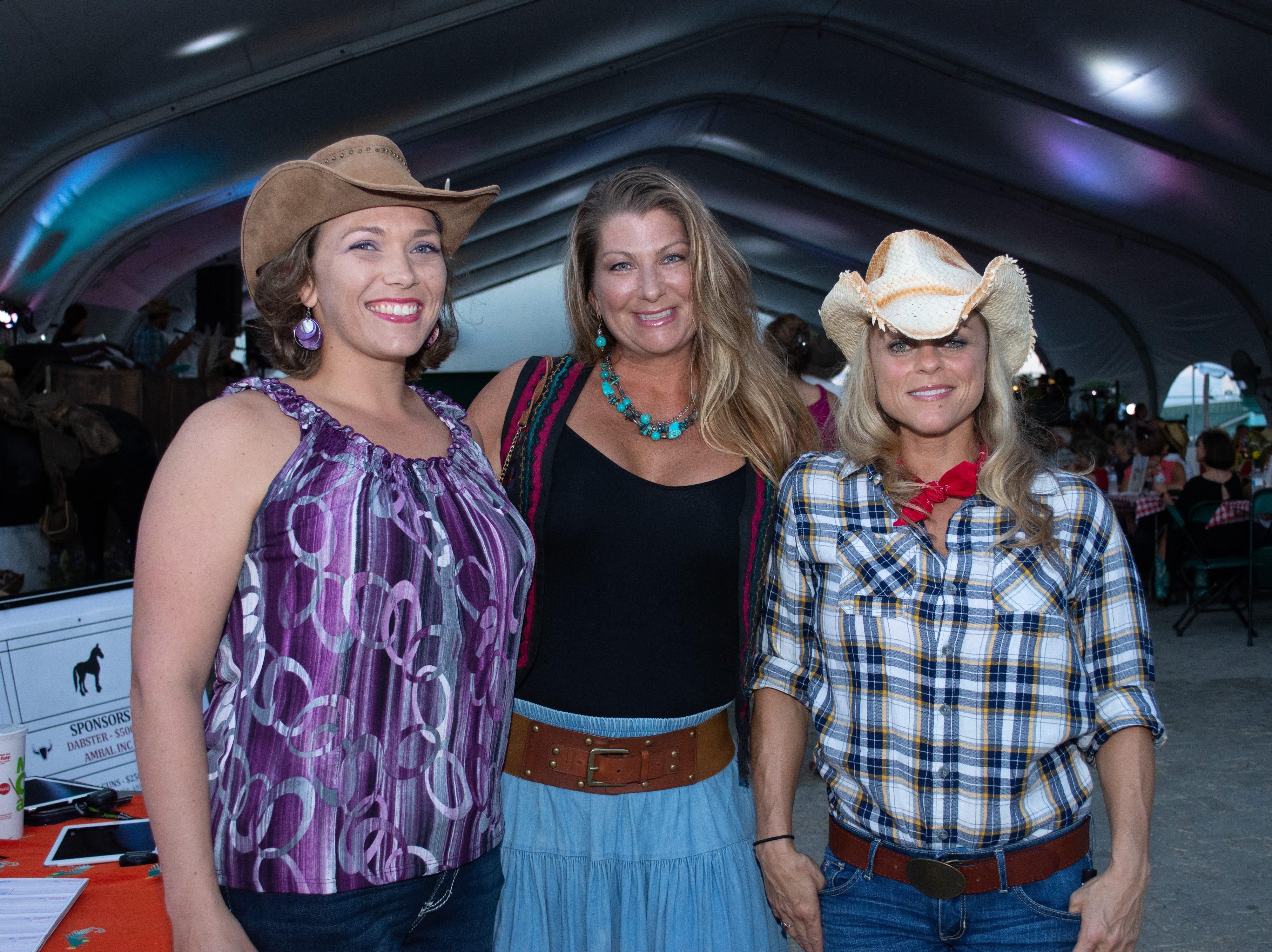 Rebecca Chapman, Allison Stauffer, and Teresa Morgan pose for a photo. Arron Lampkin/For FLORIDA TODAY