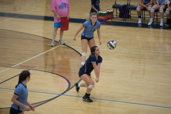Adena High School volleyball fell to Alexander in four sets in the district semifinal on Tuesday.