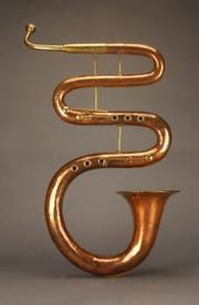 Serpent, William Lander (Mere, Wiltshire, England, c.1820-25).  Photograph: Mark Olencki