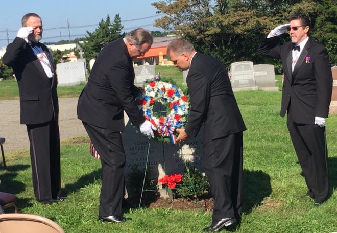 A memorial ceremony was held to commemorate the 100th anniversary of World War I veteran Cpl. Edward Kelly at St. James Cemetery in Woodbridge on Sept. 29.