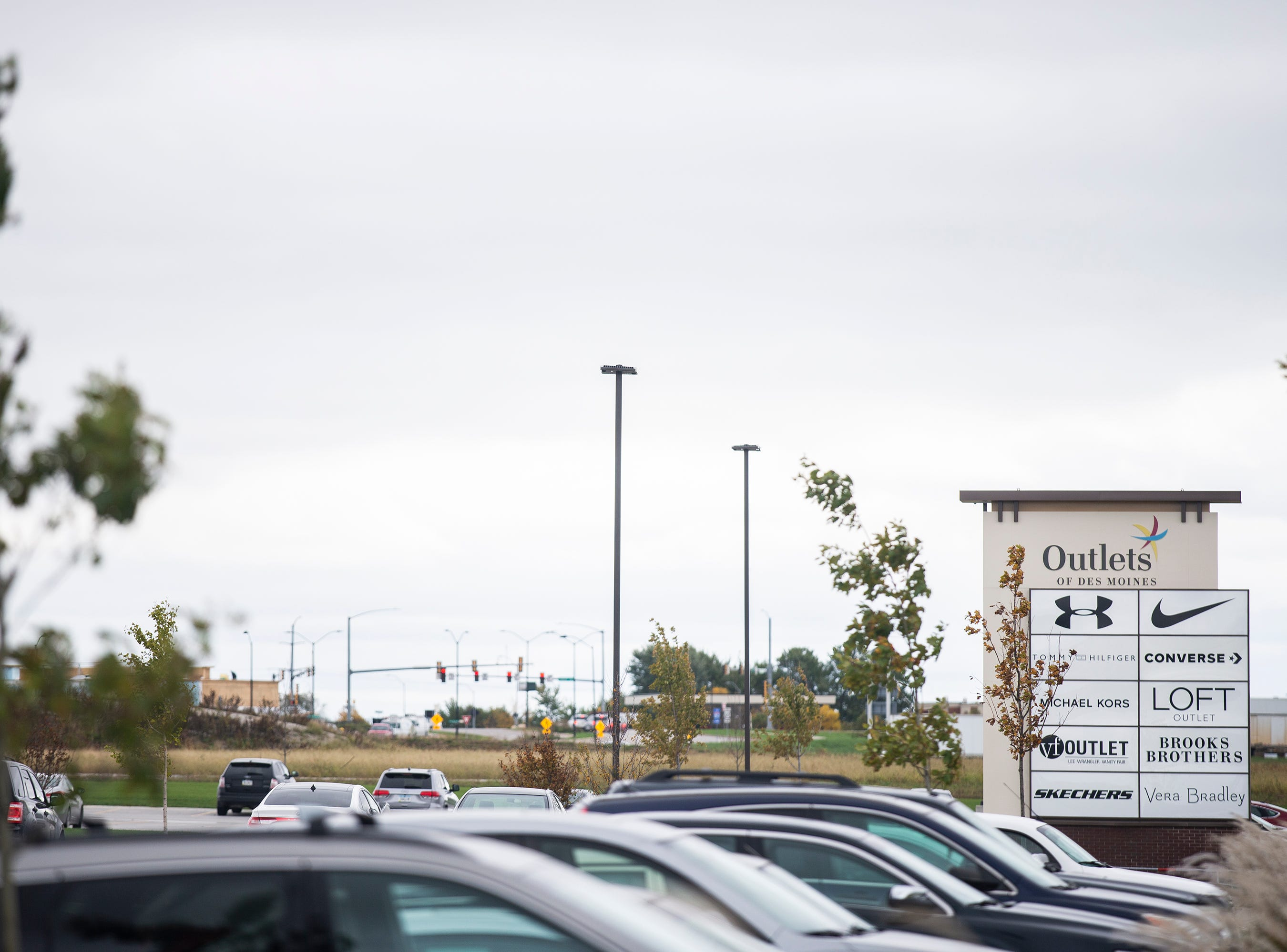 The Outlets of Des Moines has been open for a year this month, on Wednesday, Oct. 10, 2018, in Altoona. The 300,000-square-foot center has 40 stores and three food shops with more stores planned.