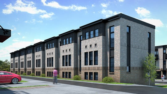 Caliber Iowa plans 49 townhomes called Cityview 34 at 1331 Keo Way.