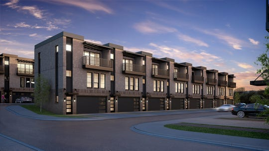 Caliber Iowa plans 49 townhomes in its Cityview 34 development at 1331 Keo Way.