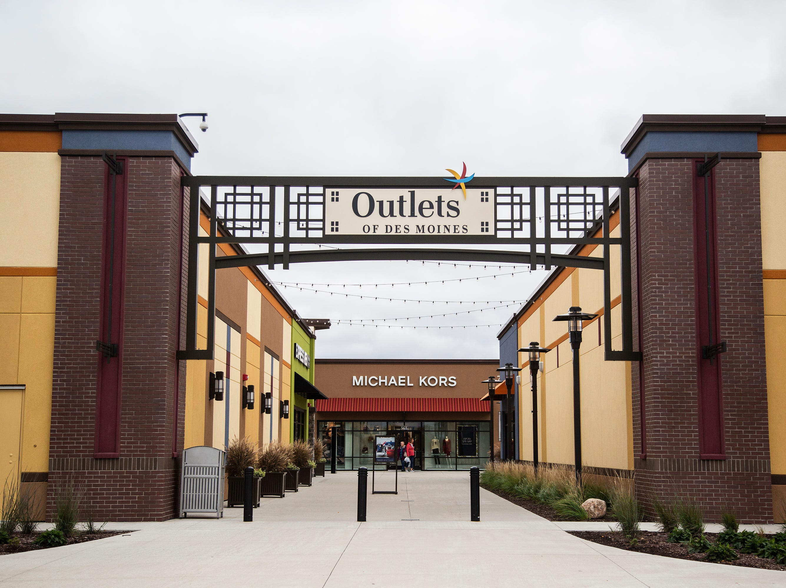 The Outlets of Des Moines is celebrating its one year anniversary this month, on Wednesday, Oct. 10, 2018, in Altoona. The mall has added new stores since it's opening, including Old Navy, Michael Kors, Lucky Brands, American Eagle and the newest addition, Polo Ralph Lauren. Forever 21 also is slated to open this fall.