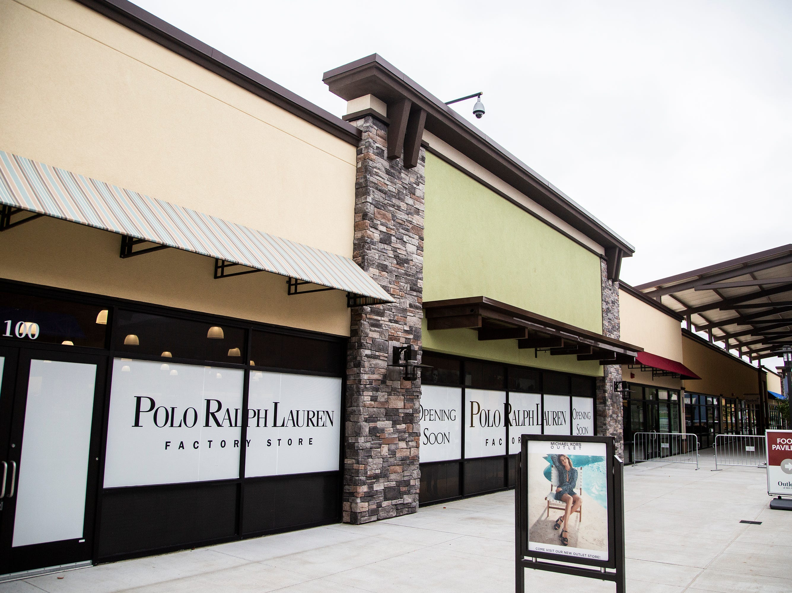 Polo Ralph Lauren prepares to open in the Outlets of Des Moines this week, on Wednesday, Oct. 10, 2018, in Altoona.