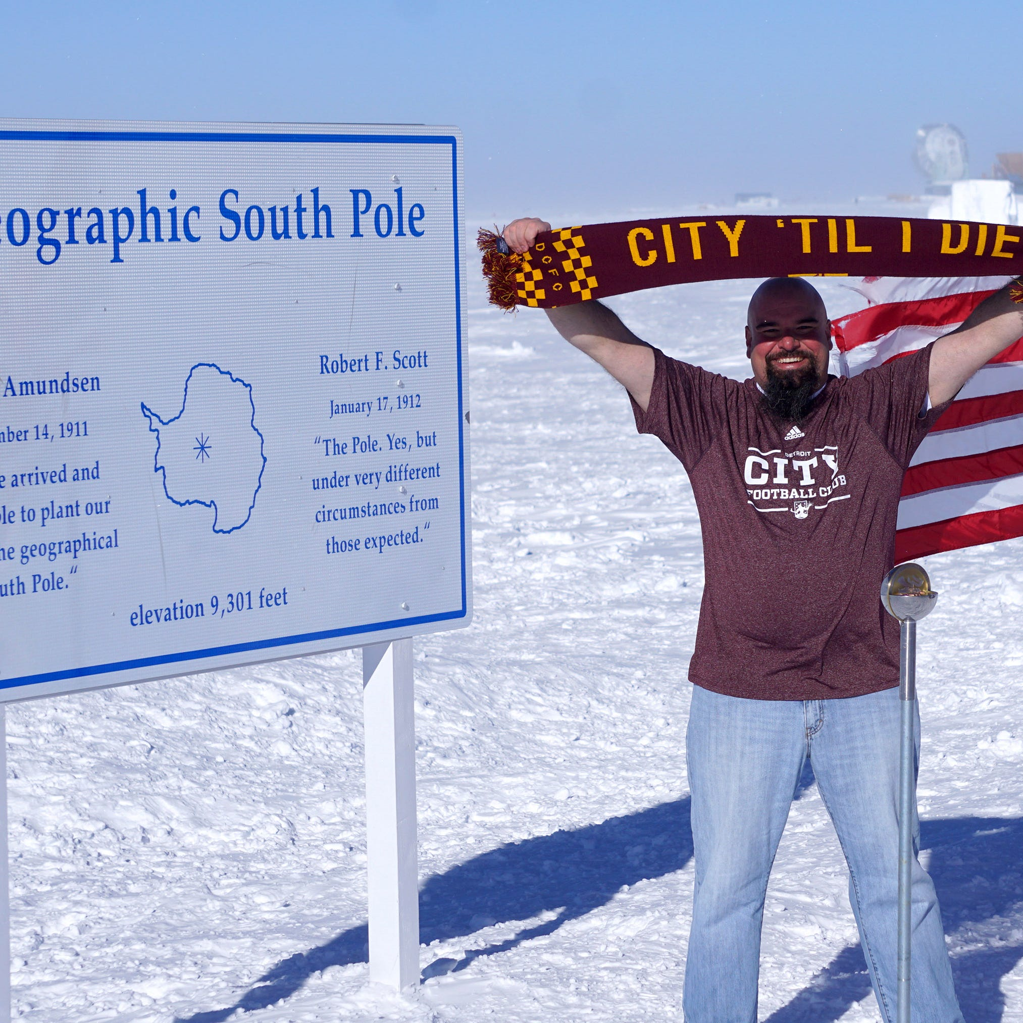 Travel with the D to the South Pole