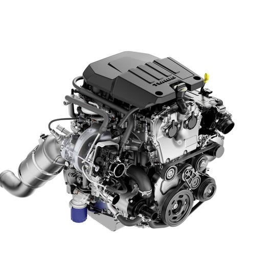 New 2.7L turbo Chevy Silverado engine