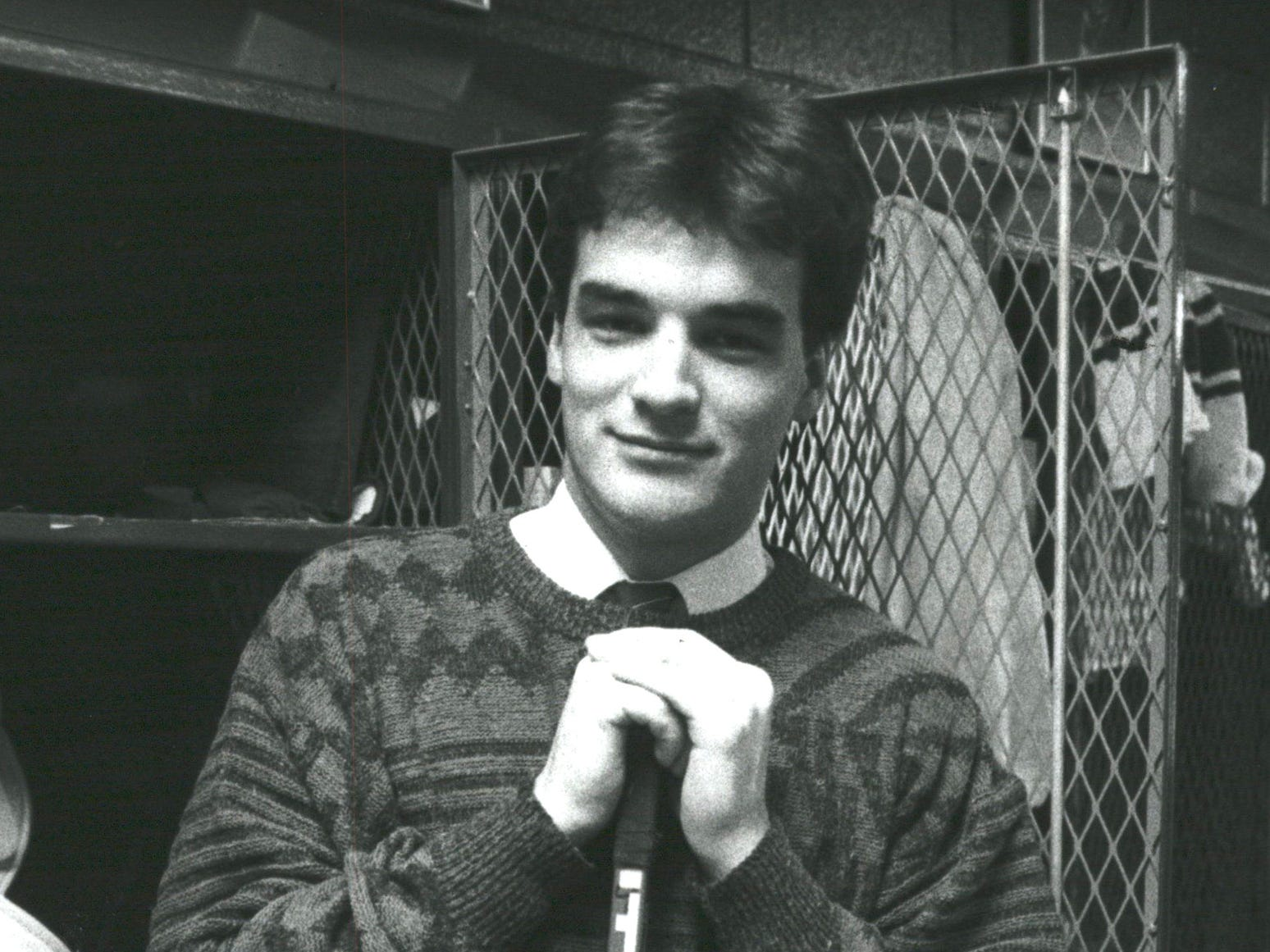 Joe Murphy starred at Michigan State before being picked No. 1 overall in 1986 by the Red Wings.