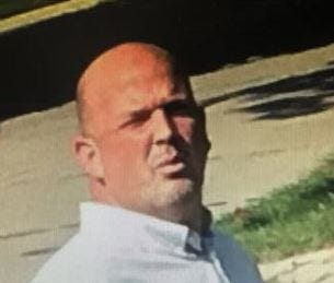 St. Clair Shores police are searching for this suspect who allegedly exposed himself to another person Monday.
