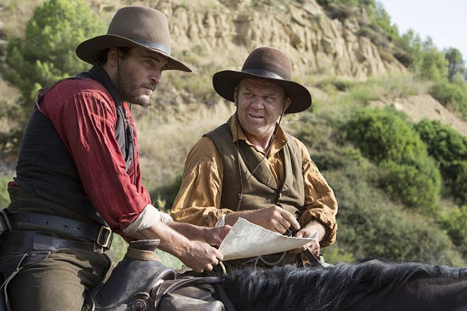 """Joaquin Phoenix and John C. Reilly in """"The Sisters Brothers."""""""