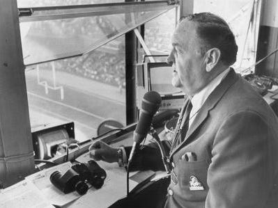 Van Patrick did Tigers TV from 1952-59, first on WWJ then on WJBK. His first year, he worked solo; he worked with Dizzy Trout from 1953-55, Mel Ott from 1956-58, and George Kell in 1959.