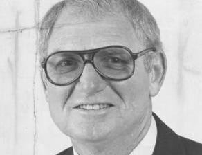 George Kell, pictured in 1980, worked alongside Larry Osterman, not pictured, from 1967-77, first on WJBK, then on WWJ. Osterman was the son-in-law of then-Tigers owner John Fetzer.
