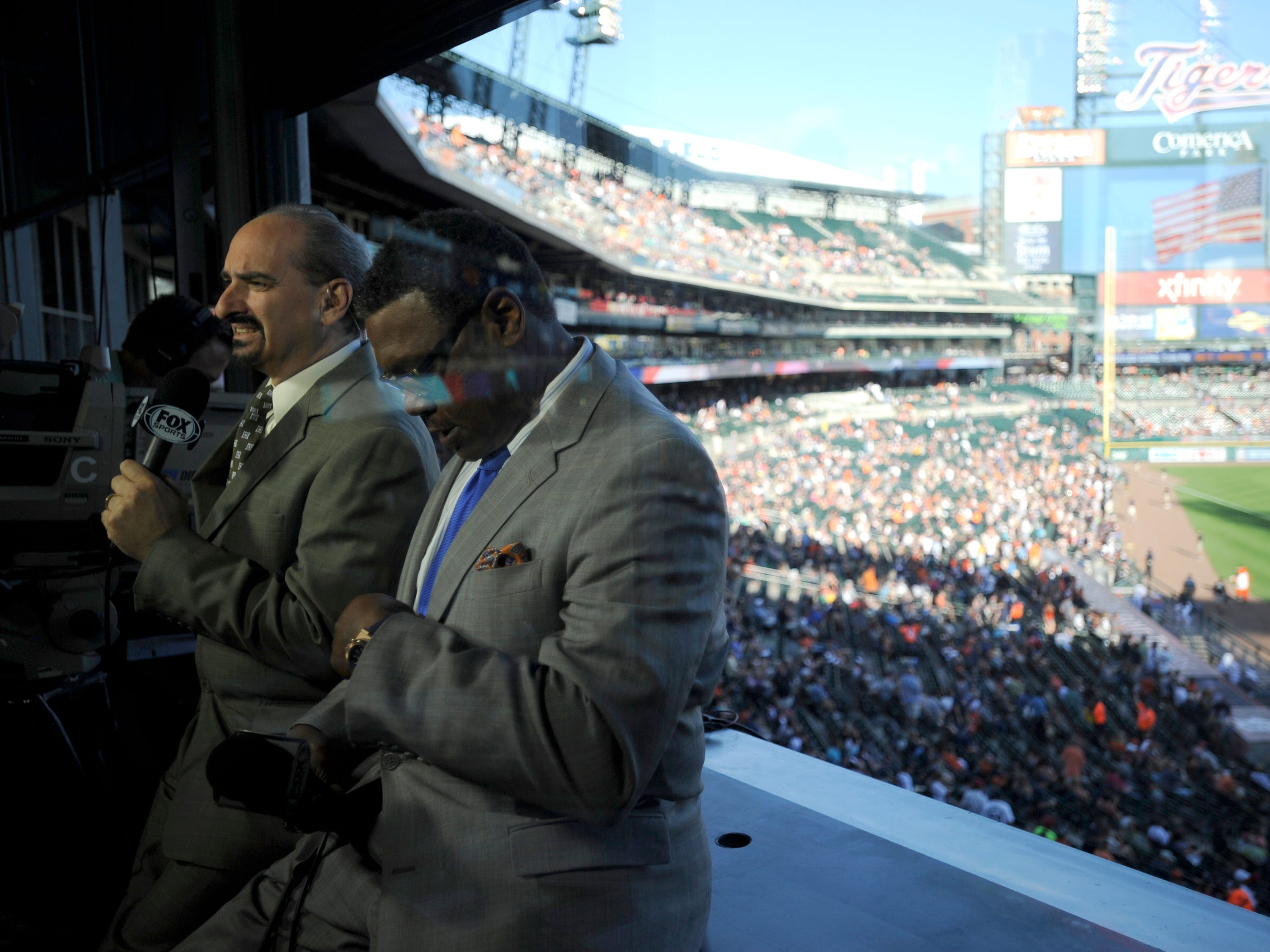 Mario Impemba and Rod Allen would go on to work 16 years together, including from 2003-14 as the lone members of the Fox Sports Detroit team.