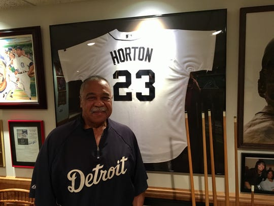 Former Detroit Tigers outfielder and designated hitter Willie Horton.