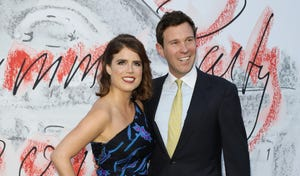 Princess Eugenie of York and Jack Brooksbank attend the Serpentine Summer Party 2018  at The Serpentine Gallery on June 19, 2018 in London, England.