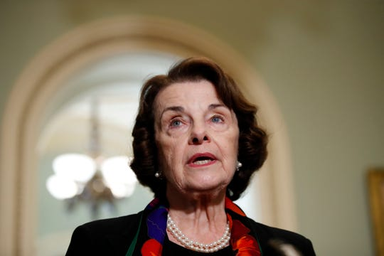 Feinstein and her husband got rid of up to $6 million in securities. She's worth a cool $58 million.