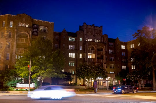 The Bucshons live in Alban Towers Apartments in northwest Washington's tony Cathedral Heights neighborhood, within view of the National Cathedral. According to the building's website, apartments there rent from between $2,121 per month for one bedroom and $4,733 for three bedrooms.