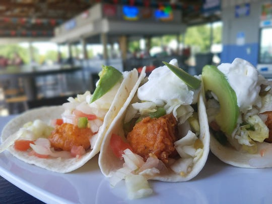 Fried fish, cabbage, sour cream, avocado. Everything is delicious in a taco. We found these at KC's Marina Pointe earlier this summer, but you can find dozens of tacos at the Evansville Taco Festival this Saturday, Oct. 13.