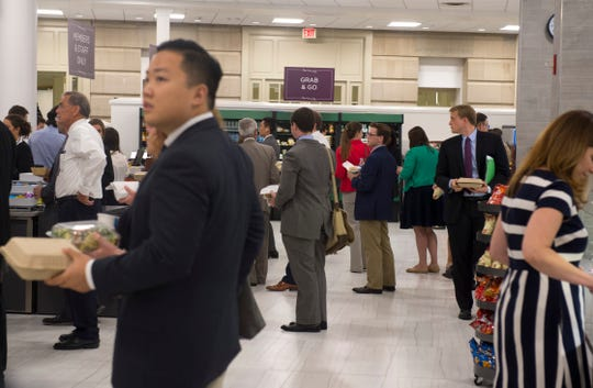 The Longworth House Office Building's cafeteria daily bustles with staffers, lobbyists, members of Congress and visitors.