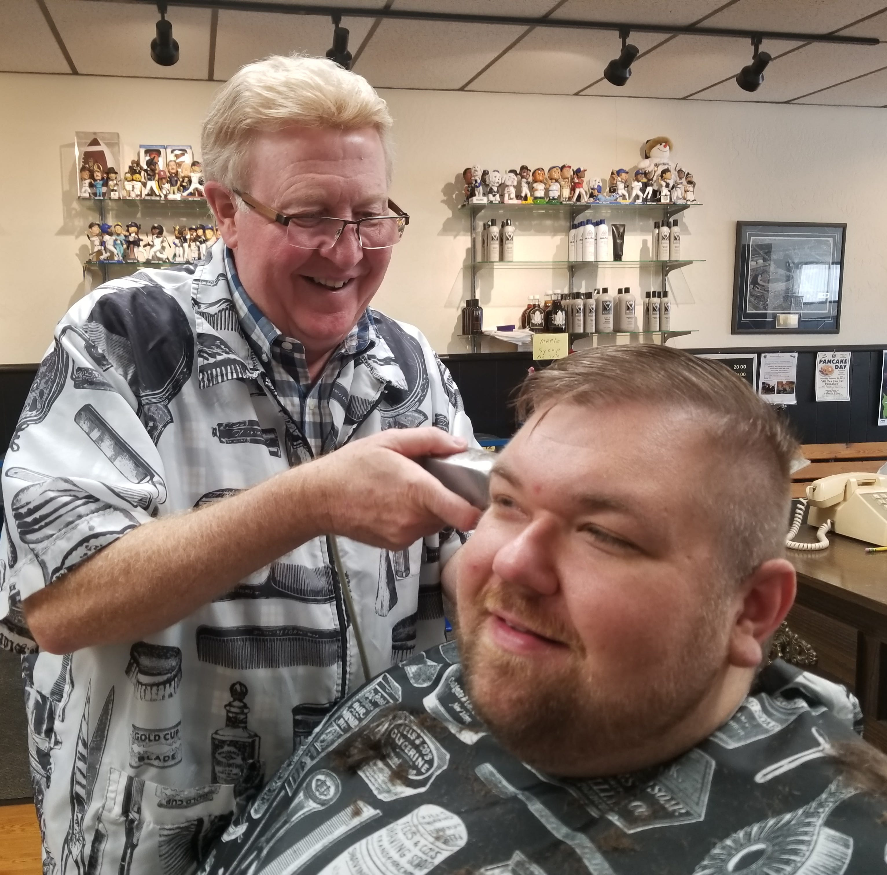 Gary Muellenbach trims generations of styles | Meet Me Downtown