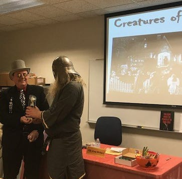 Writers to give 'tricks and treats' at Halloween presentation Oct. 23