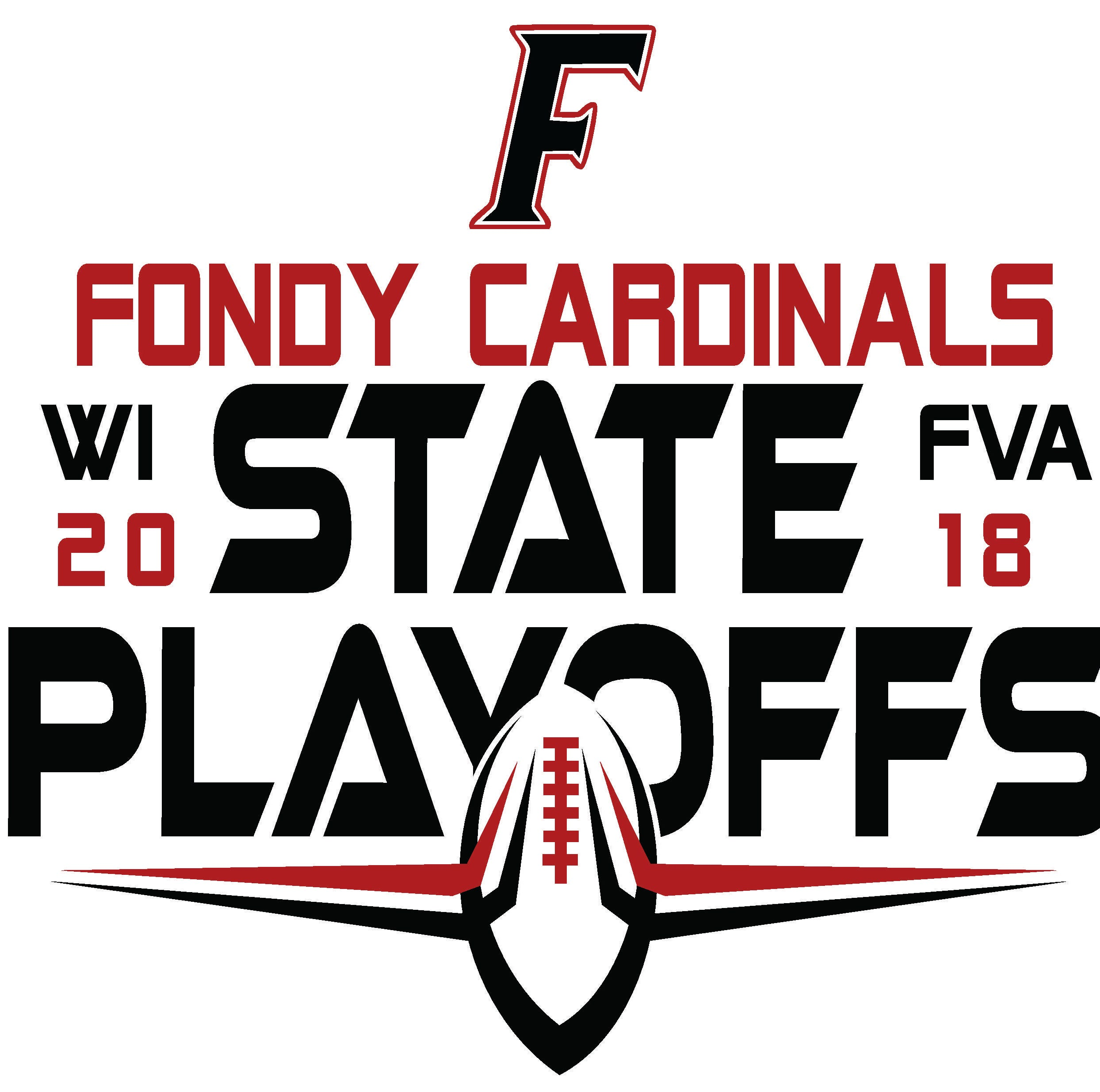 FHS Cardinal's Nest creates Fondy football playoff shirts for fans