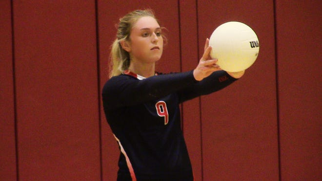 North Fort Myers senior Kaleigh Edwards is the engine of the  Red Knight volleyball attack as the setter is among the area leaders in assists.