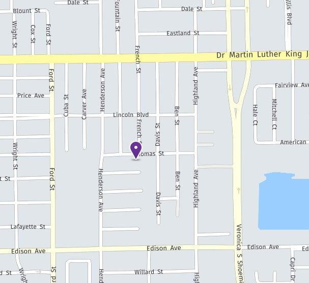 Fort Myers Police Department has reported a shooting where one male was injured this morning on Thomas Street.