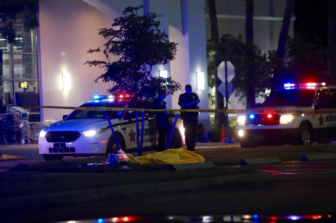 Authorities are investigating after a shooting at the Bell Tower Shops left two dead and two injured, according to the Lee County Sheriff's Office.
