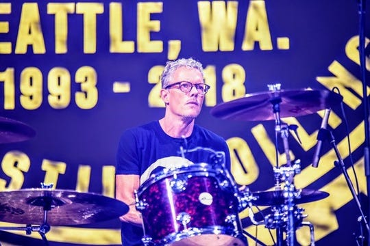 Rock and Roll Hall of Fame drummer Dave Krusen to play in Cape Coral with Candlebox.