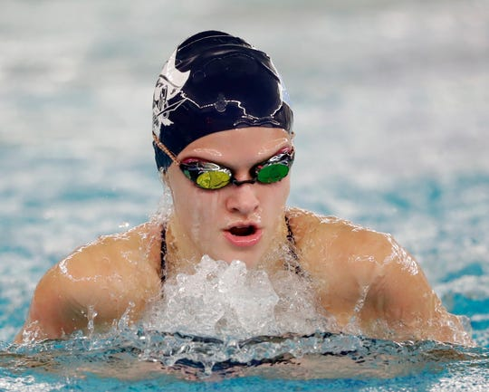 Bay Port's Emma Lasecki will compete at the University of Wisconsin.