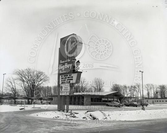 Marc's Big Boy had as many as three locations in the Green Bay area at one time. Shown here is the location at 411 S. Military Ave. in 1963.