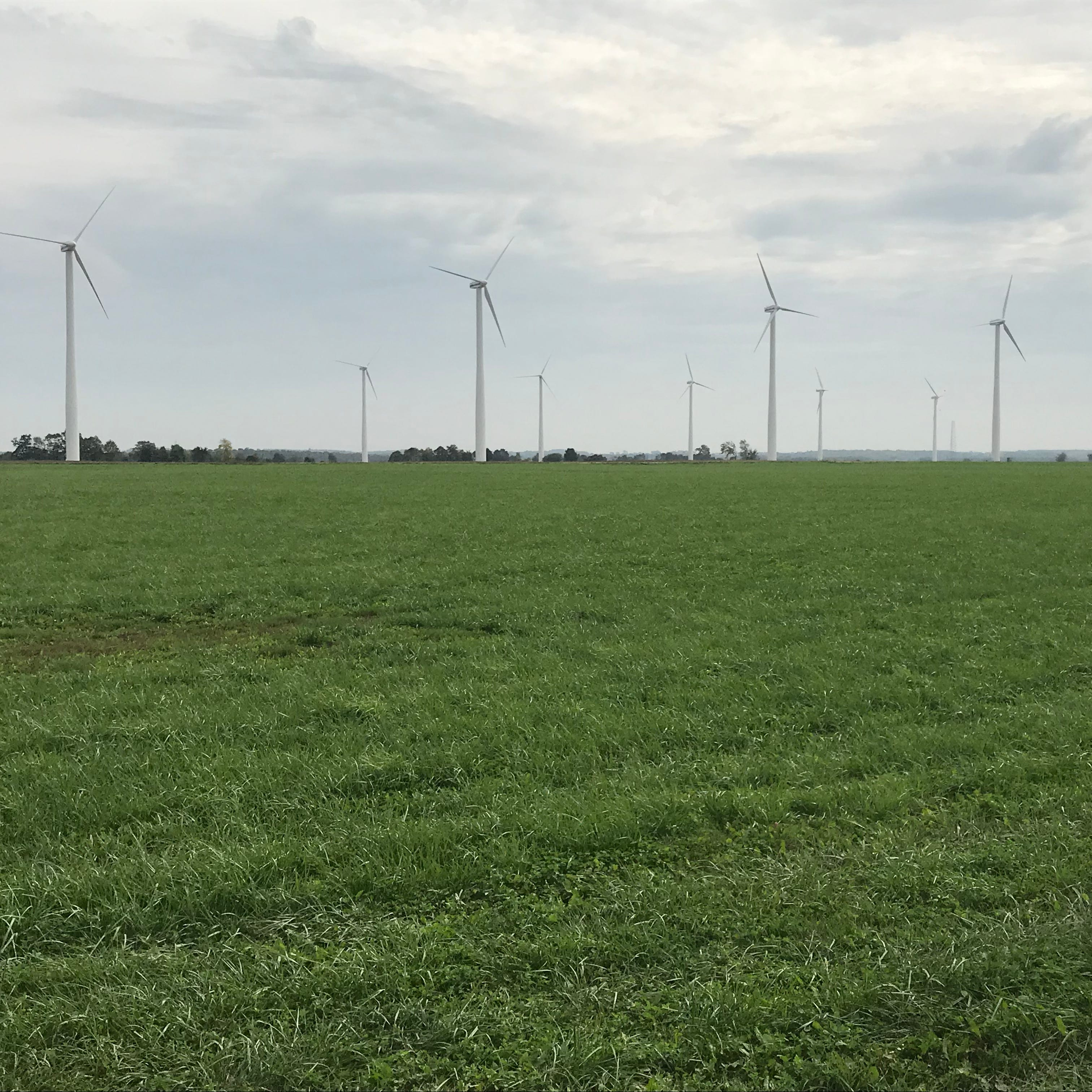 Wisconsin Public Service closing Kewaunee County wind energy farm
