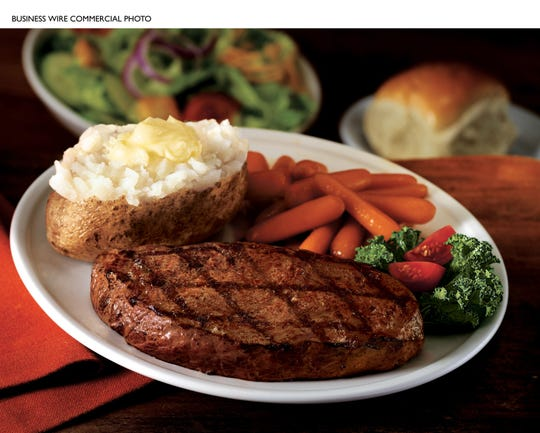 A promotion photo from Ponderosa Steakhouse