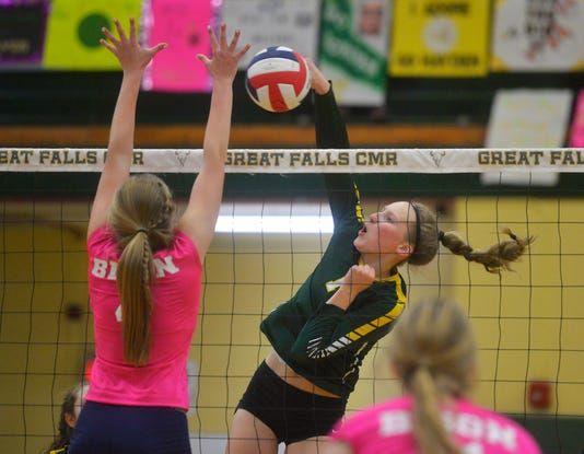 10092018 Crosstown Volleyball At Cmr A