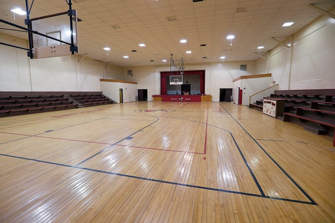 Historic Waveland Gym Up For Auction