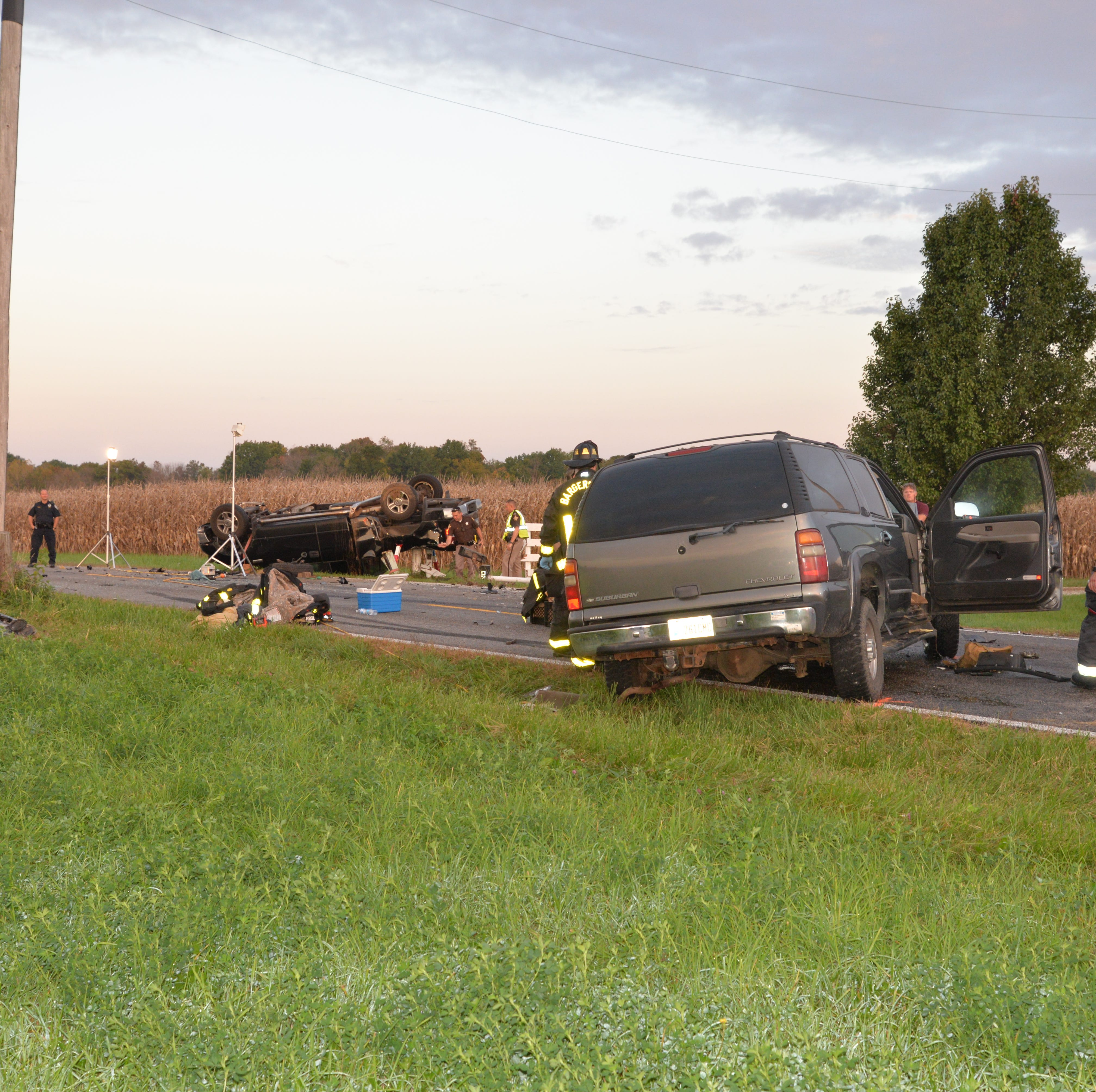 Driver killed in head-on crash in Johnson County