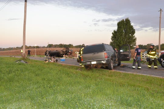 A driver was killed in a head-on crash with another car on Oct. 9, according to a crash report released by the Johnson County Sheriff's Office.