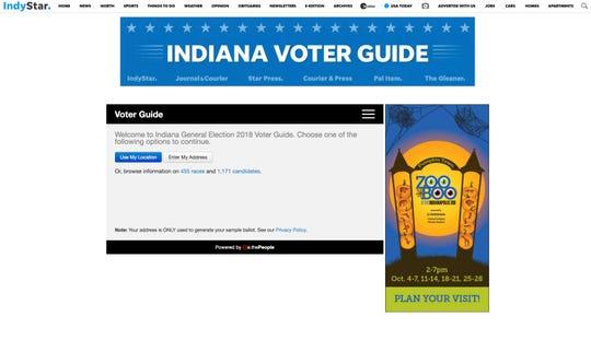 IndyStar Voter Guide 2018