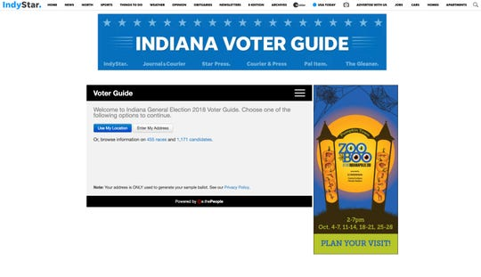 IndyStar Voter Guide 2018