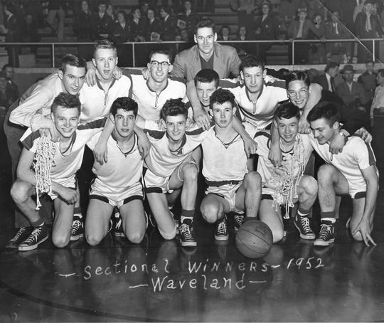 Waveland was a powerhouse basketball program in the 1950s.