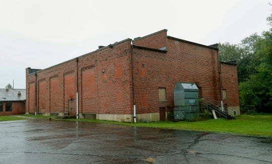 The Waveland Gym, built in 1937 attached to the Waveland Elementary School, Wednesday, Oct. 10 2018. The school and gym will be up for sale on auction next month,