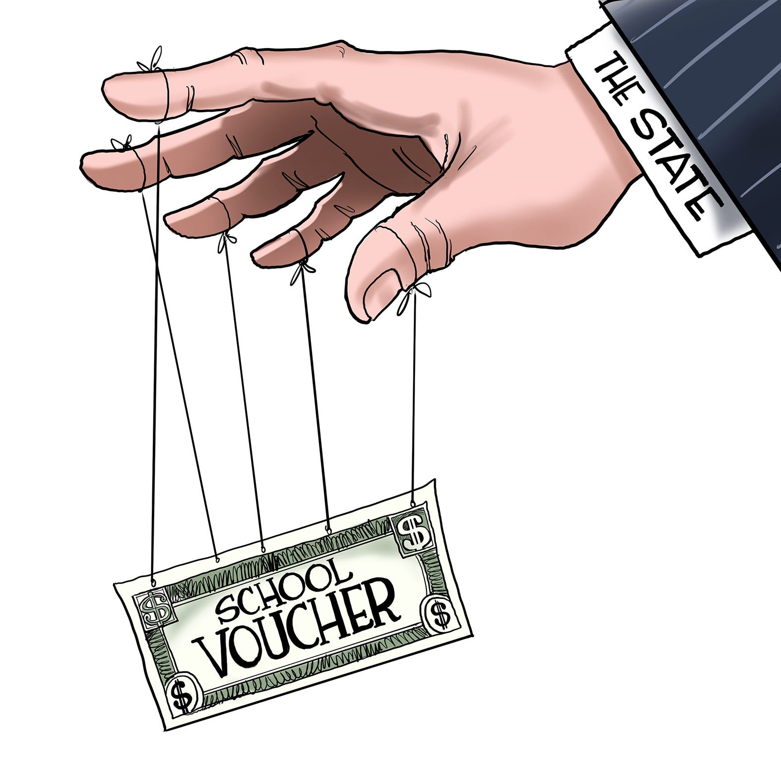Cartoonist Gary Varvel: The problem with school vouchers