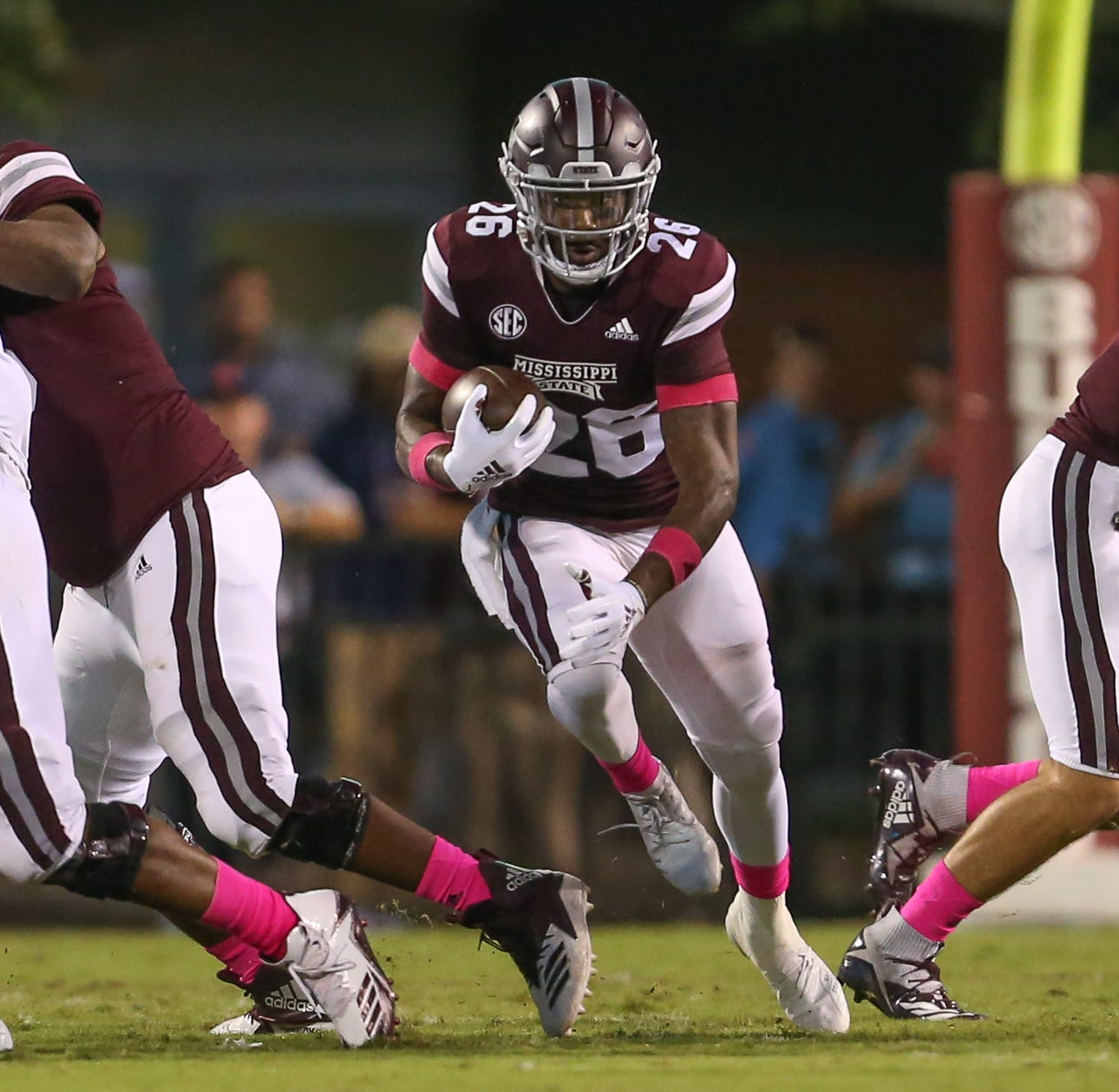 How Marcus Johnson helped Mississippi State's offensive line get its 'stinger' back