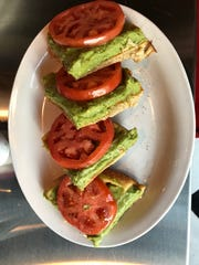 A tomato avocado waffle is the Fill-Up with Billups' version of avocado toast.