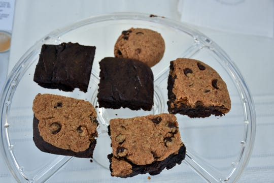 """Blackburn's """"brookies,"""" a combination of a brownie and a cookie."""